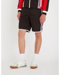 Givenchy - Side-stripe Sports-jersey Shorts - Lyst