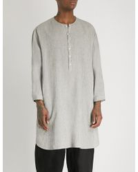 Toogood - Baker Striped Oversized Cotton Shirt - Lyst