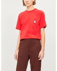 Aape - Ape-logo Cotton-jersey Pocket T-shirt - Lyst