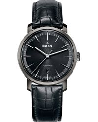 Rado - R14074175 Diamaster Ceramic And Leather Watch - Lyst