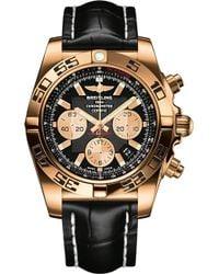 Breitling - Hb011012|b968|743p+h20ba.1 Chronomat Rose Gold Watch - Lyst