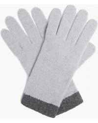 The White Company - Classic Cashmere Gloves - Lyst