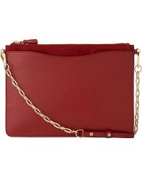 L.K.Bennett - Rachel Leather Pouch - Lyst