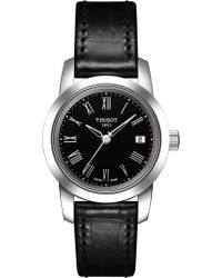 Tissot - T0332101605300 Classic Dream Leather Watch - Lyst