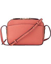 L.K.Bennett - Mariel Saffiano Leather Cross-body Bag - Lyst