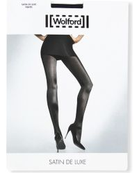 Wolford - Satin De Luxe 50 Tights - Lyst