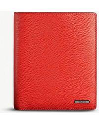 Tumi - Province Slg Leather Passport Case - Lyst