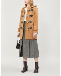 Burberry - Merton Wool-blend Duffle Coat - Lyst
