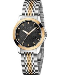 992032a01dafb Gucci - Ya126512 G-timeless Collection Bi-colour Stainless Steel And  Pink-gold