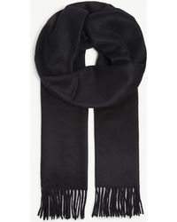Johnstons - Tasselled Cashmere Scarf - Lyst