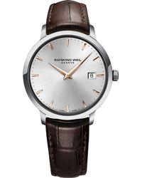 Raymond Weil - 5488-sl5-65001 Toccata Stainless Steel Watch - Lyst