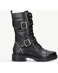 Kurt Geiger - Sting Leather Boots - Lyst