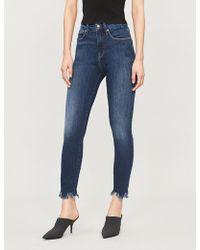 GOOD AMERICAN - Good Waist Crop Ultra High-rise Skinny Jeans - Lyst