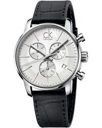 CALVIN KLEIN 205W39NYC - City Chronograph Watch - Lyst