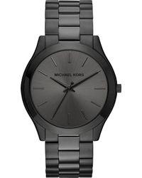 Michael Kors - Mk8507 Slim Runway Ion-plated Stainless Steel Watch - Lyst