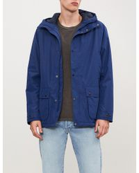 Barbour - Southway Hooded Shell Jacket - Lyst