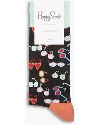 Happy Socks - Sunglasses Cotton-blend Socks - Lyst