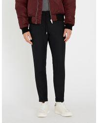 The Kooples - Slim-fit Skinny Twill Trousers - Lyst