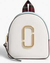 Marc Jacobs - Black Pack Shot Leather Backpack - Lyst