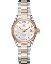 Tag Heuer - War2452.bd0772 Carrera Stainless Steel - Lyst