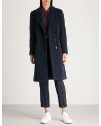 Claudie Pierlot - Wool And Cashmere-blend Coat - Lyst