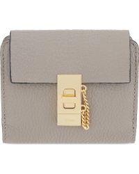 Chloé - Drew Square Leather Purse - Lyst