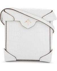 MANU Atelier - Pristine Mini Leather Shoulder Bag - Lyst