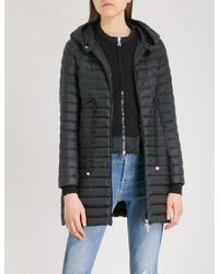 Moncler - Barbel Hooded Quilted Shell Coat - Lyst