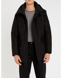 Sandro - Padded Shell Hooded Coat - Lyst