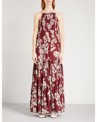 Free People - Garden Party Woven Maxi Dress - Lyst