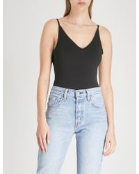 Cheap Monday - Inner Recycled Hacker Stamp Stretch-jersey Body - Lyst