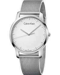CALVIN KLEIN 205W39NYC - K2g2g126 City Stainless Steel Watch - Lyst