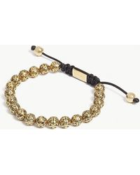 Nialaya - Indian Logo Bead Bracelet - Lyst