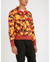 A Bathing Ape - Camo-print Cotton-blend Sweatshirt - Lyst