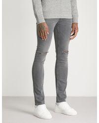 Sandro - Distressed Slim-fit Skinny Jeans - Lyst