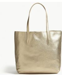 L.K.Bennett - Peggy Leather Tote - Lyst