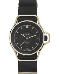 Givenchy | Gy100181s09 Seventeen Limited Edition Yellow Gold-plated And Leather Watch | Lyst