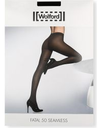 Wolford - Maternity Fatal 50 Seamless Tights - Lyst