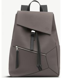 Loewe - Puzzle Leather Backpack - Lyst