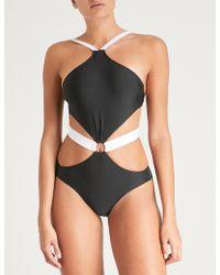 Alexandra Miro - Gigi Cutout Swimsuit - Lyst