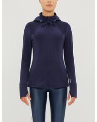Lorna Jane Cool-down Excel Stretch-jersey Jacket - Blue