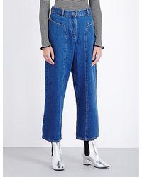 Kéji - Wide-leg High-rise Jeans - Lyst