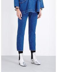 Kéji | Cigarette Skinny High-rise Jeans | Lyst