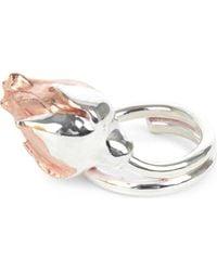 Husam El Odeh - Rose Sterling Silver Ring - Lyst