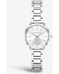 Michael Kors - Mk3837 Portia Stainless Steel Watch - Lyst