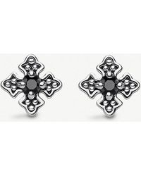 Thomas Sabo - Kingdom Of Dreams Zirconia-stone 925-sterling Silver Ear Studs - Lyst