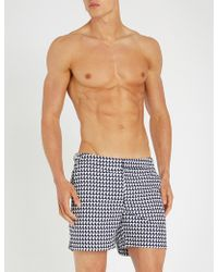 Orlebar Brown - Bulldog Relaxed-fit Printed Swim Shorts - Lyst