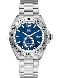Tag Heuer - Waz2014.ba0842 Formula 1 Steel And Sapphire-crystal Watch - Lyst