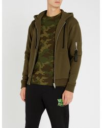 The Kooples - Camouflage-print Cotton-jersey T-shirt - Lyst