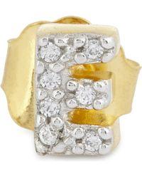 Missoma | E 18ct Gold Vermeil Stud Earring | Lyst